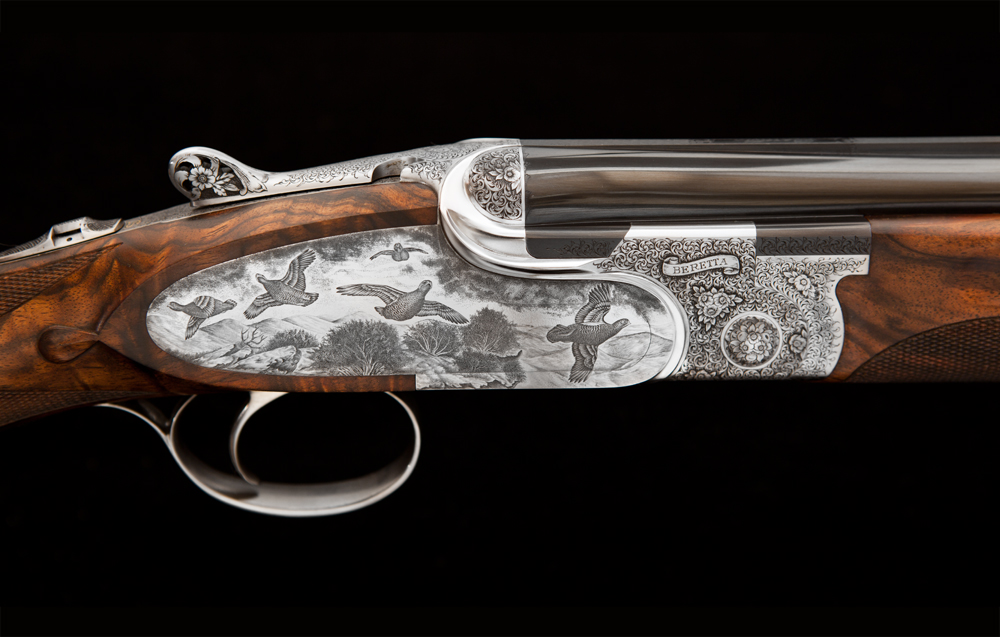 JE Cauthen Beretta SO10 Shotgun