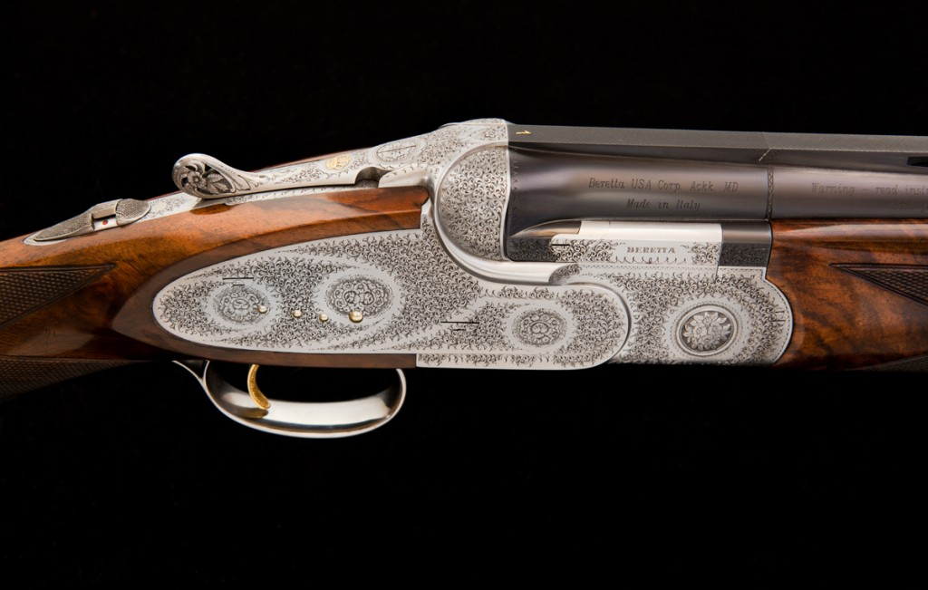 JE Cauthen Beretta S06 Match Pair #1 Shotgun