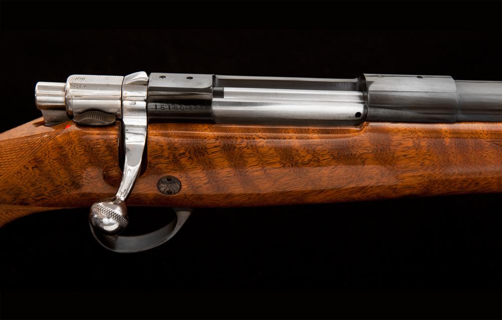 JE Cauthen Browning Safari 22-250