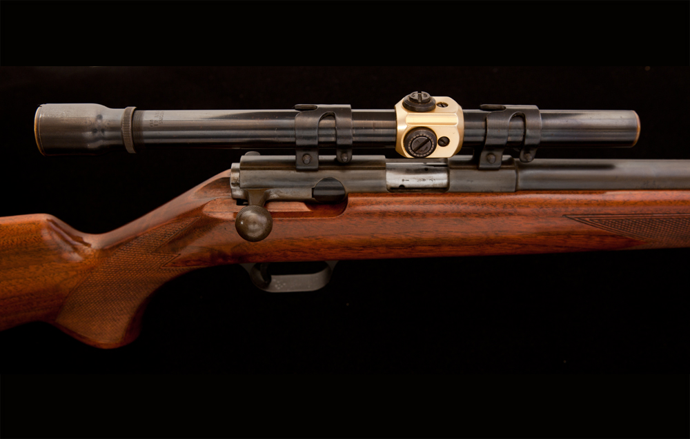 JE Cauthen Browning T-Bolt 22 Rifle